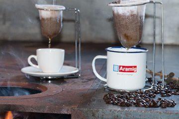 o melhor velador e coador de café